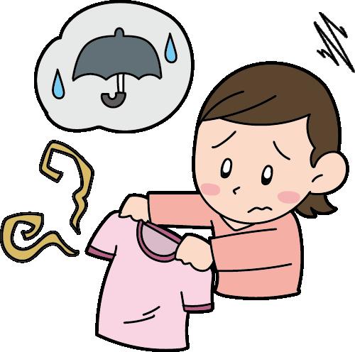 洗濯物がくさい モラクセラ菌